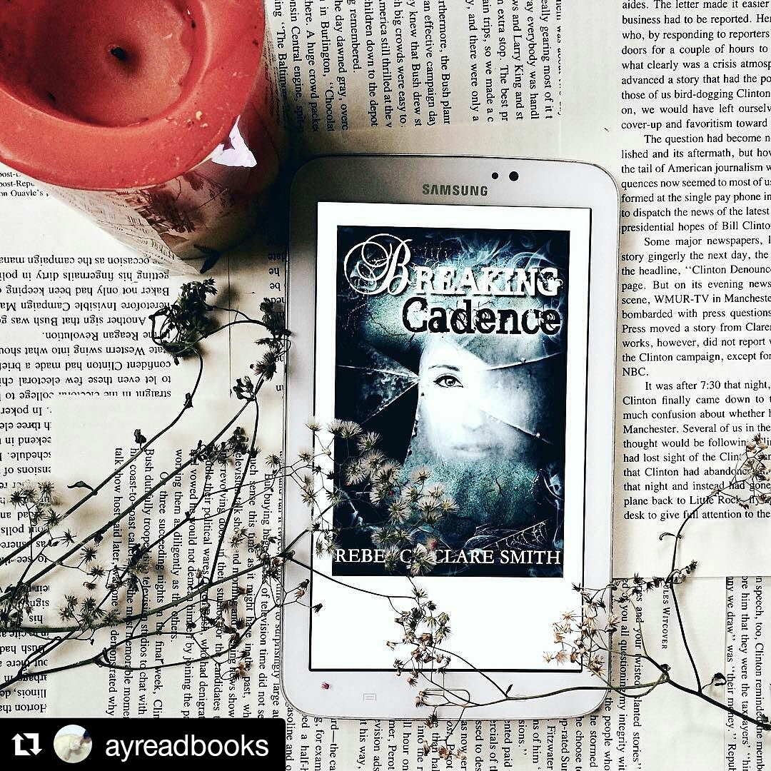 A fantastic image from a reader and book reviewer (@ayreadbooks on instagram) of Breaking Cadence