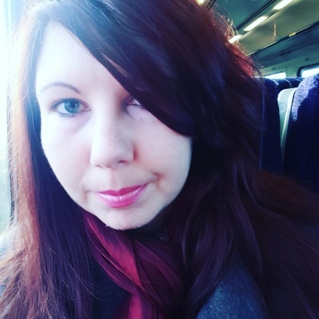 Train selfie!