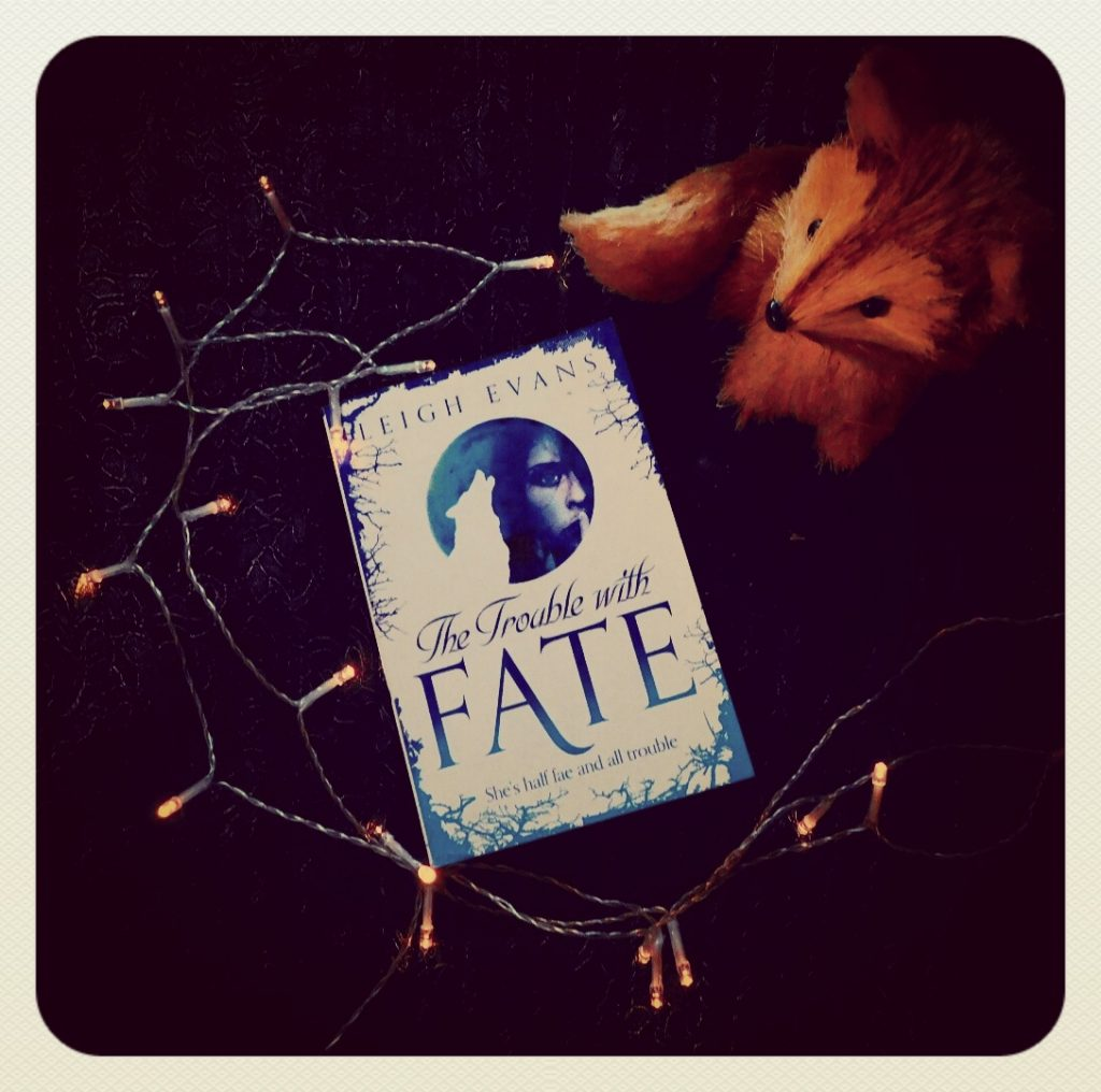 The Trouble With Fate by Leigh Evans - one of my recent, all night reads.