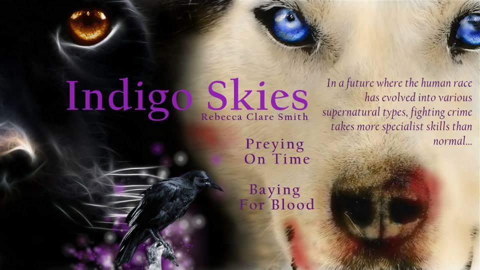 The poster for the second Indigo Skies book. Hard to believe that this is the fourth in the series!