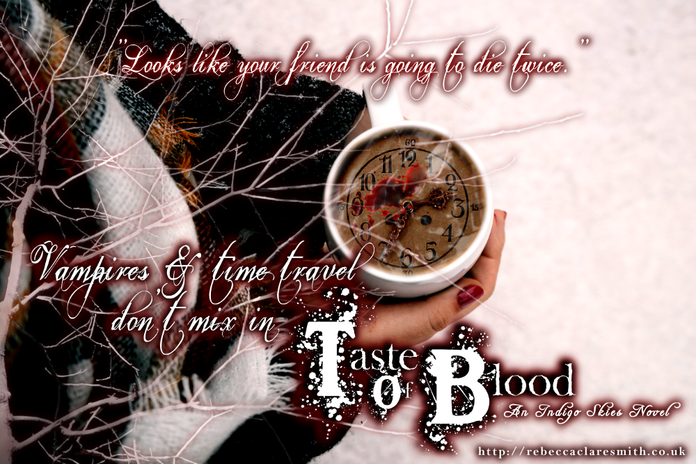 Taste Of Blood is already available for preorder at Amazon, Barnes & Noble, Apple iBooks, & more...