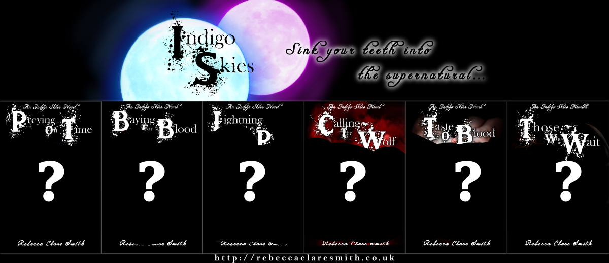 Cover Reveal: New Book Covers For The Indigo Skies Series